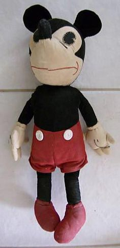 Vintage Mickey Mouse Doll