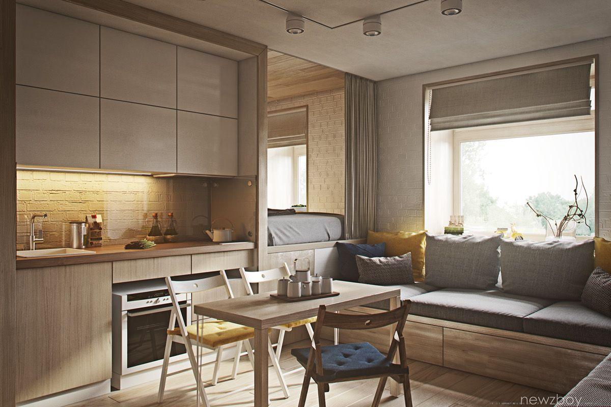 Cozy apartments interior - Interiors