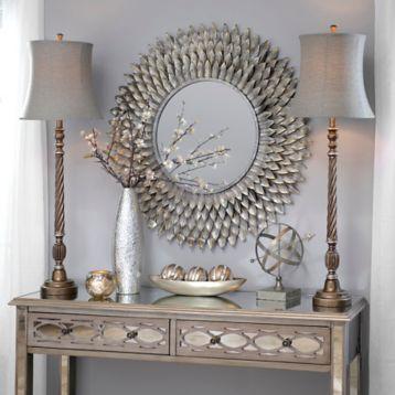 Silvis Gunmetal Buffet Lamp | Kirklands