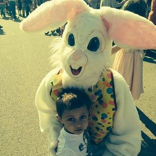 Disturbing Easter Bunny Photos That Will Send Chills Down Your - 26 creepy easter bunnies
