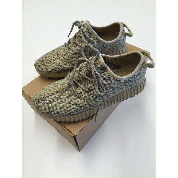 Yeezy 350 Boost Oxford Tan Women 6.5 (UA) New in box. Come with one pair of socks. Women size 6.5. They run big and fit size 7 to 7.5 Shoes Sneakers