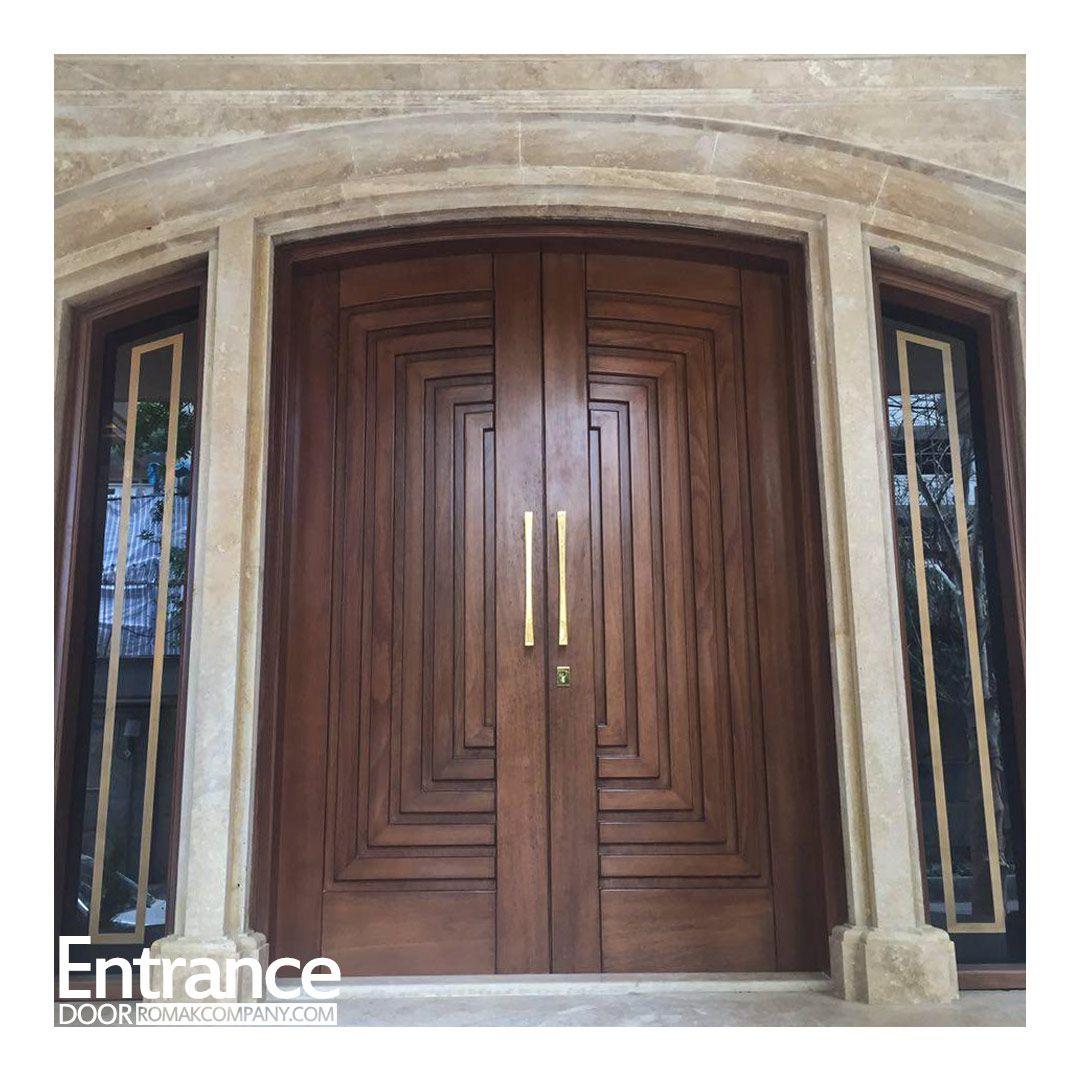 درب لابی ماچوپیچو Wooden Front Door Design Entrance Door Design Door Design
