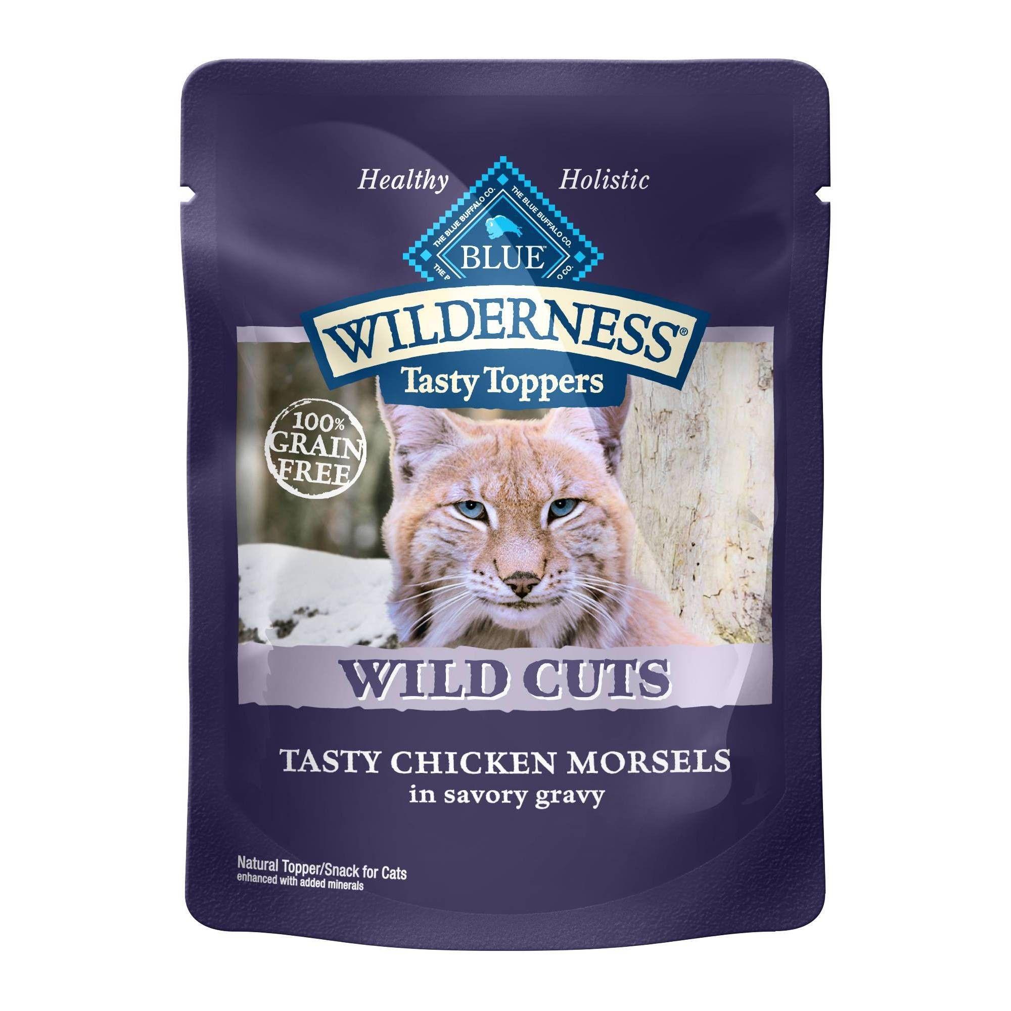 Blue Buffalo Wilderness Tasty Chicken Morsels Gravy Wet Cat Food 24pk 3oz In 2020 Cat Food Canned Cat Food Dry Cat Food