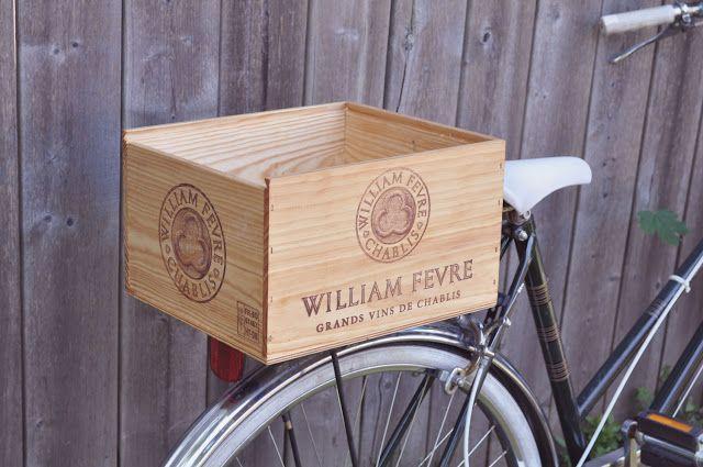 Bike Talk Wooden Bike Bike Basket Bicycle Basket