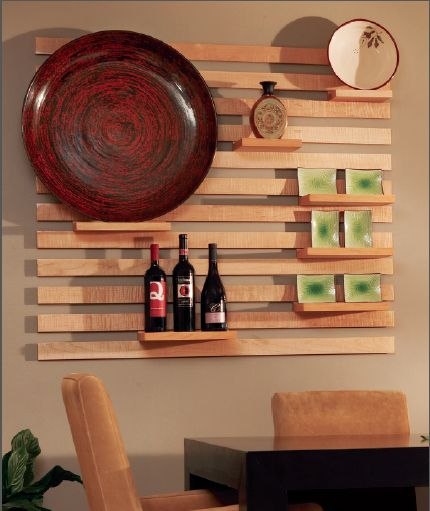 Routing modular wall shelf system moldings sweet love for Wood craft shelves