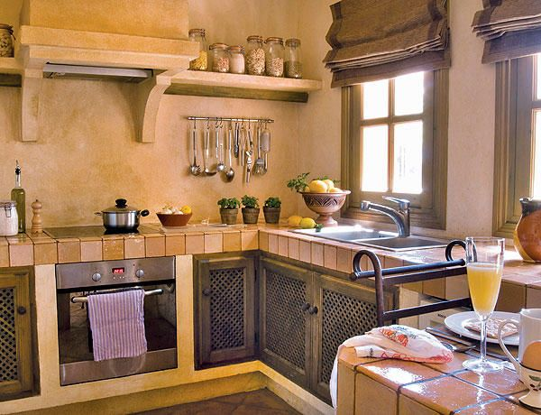 Ambientes de la casa kitchens ideas para and rustic kitchen for Como decorar una cocina chica