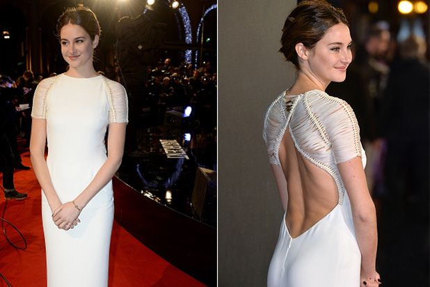 Shailene Woodley attends the World Premiere of 'Insurgent' at Odeon Leicester Square on March 11, 2015 in London, England. (Photo by Dave J Hogan/Getty Images)