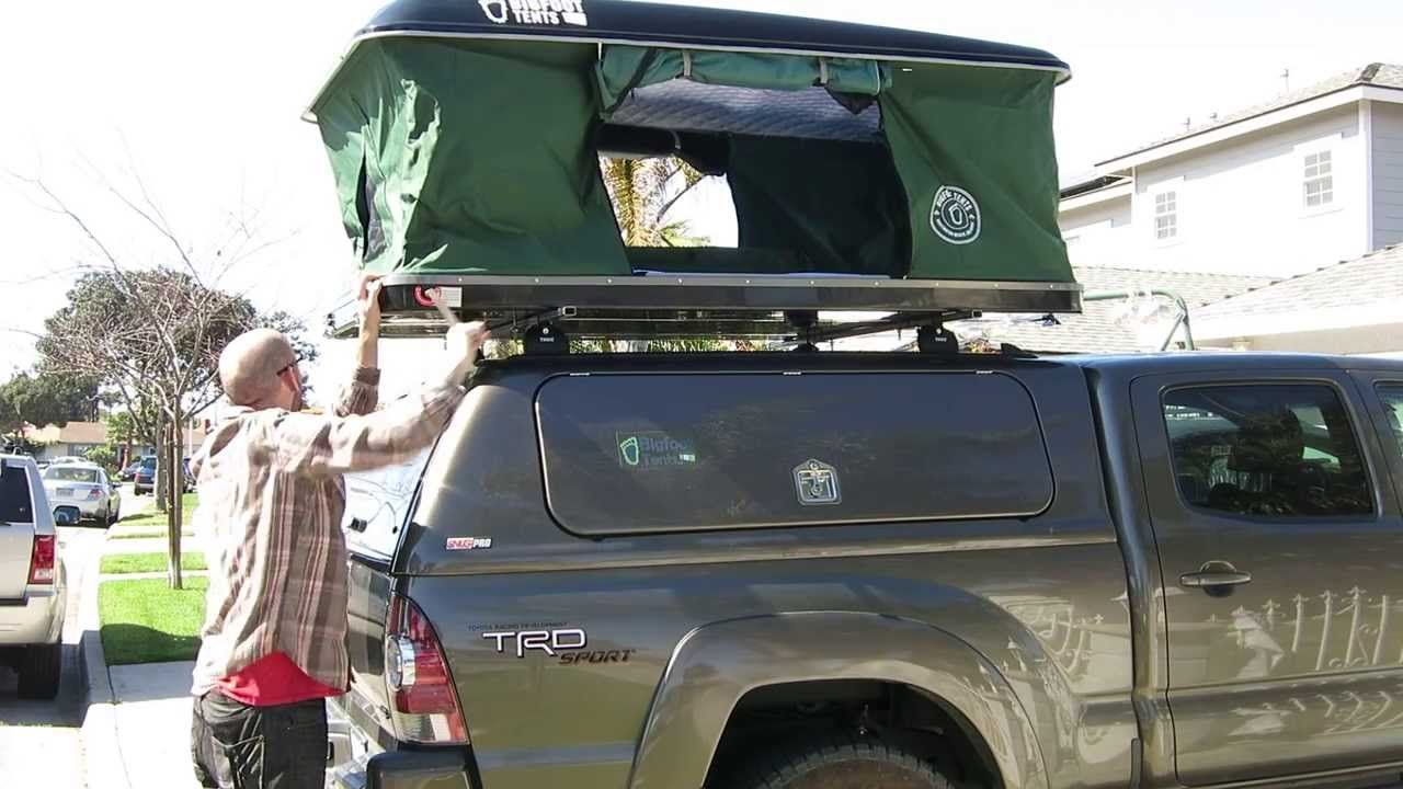 Used Roof Top Tents From Bigfoot Roof Top Tents Roof Top Tent Top Tents Roof Tent