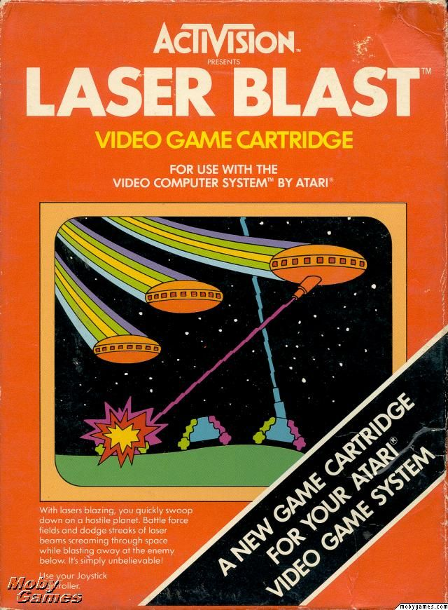 The Atari 2600 Game Laser Blast I Have No Experience With This