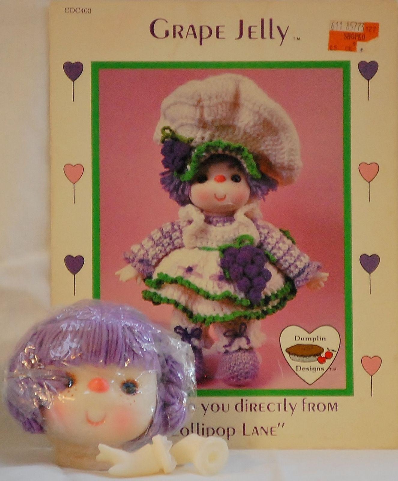 Dumplin Designs Grape Jelly Crochet Pattern Leaflet Lollipop Lane ...