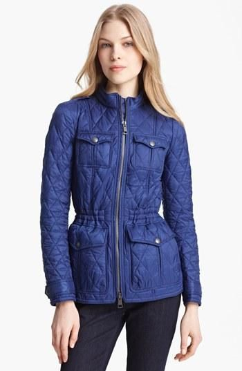 Burberry Brit Ravenfield Quilted Jacket Nordstrom Quilted Jacket Womenswear Fashion Burberry Quilted Jacket