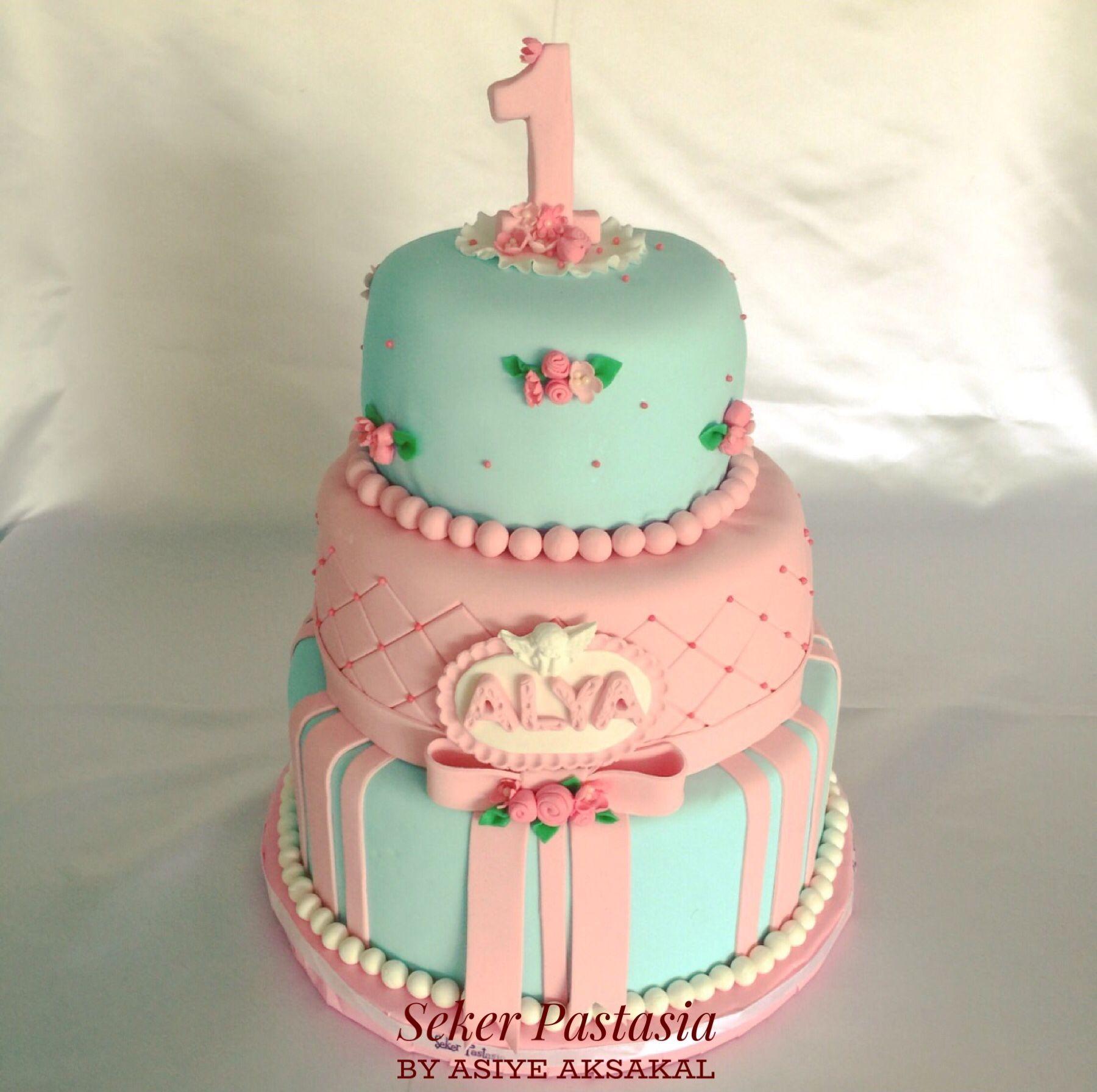 Alya 1 Yas Pasta Pasta Cupcake Kurabiye