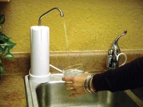 Buy Paragon P3060 Maintenance Free Countertop Water Filter ( 20k Gallons)  White Now