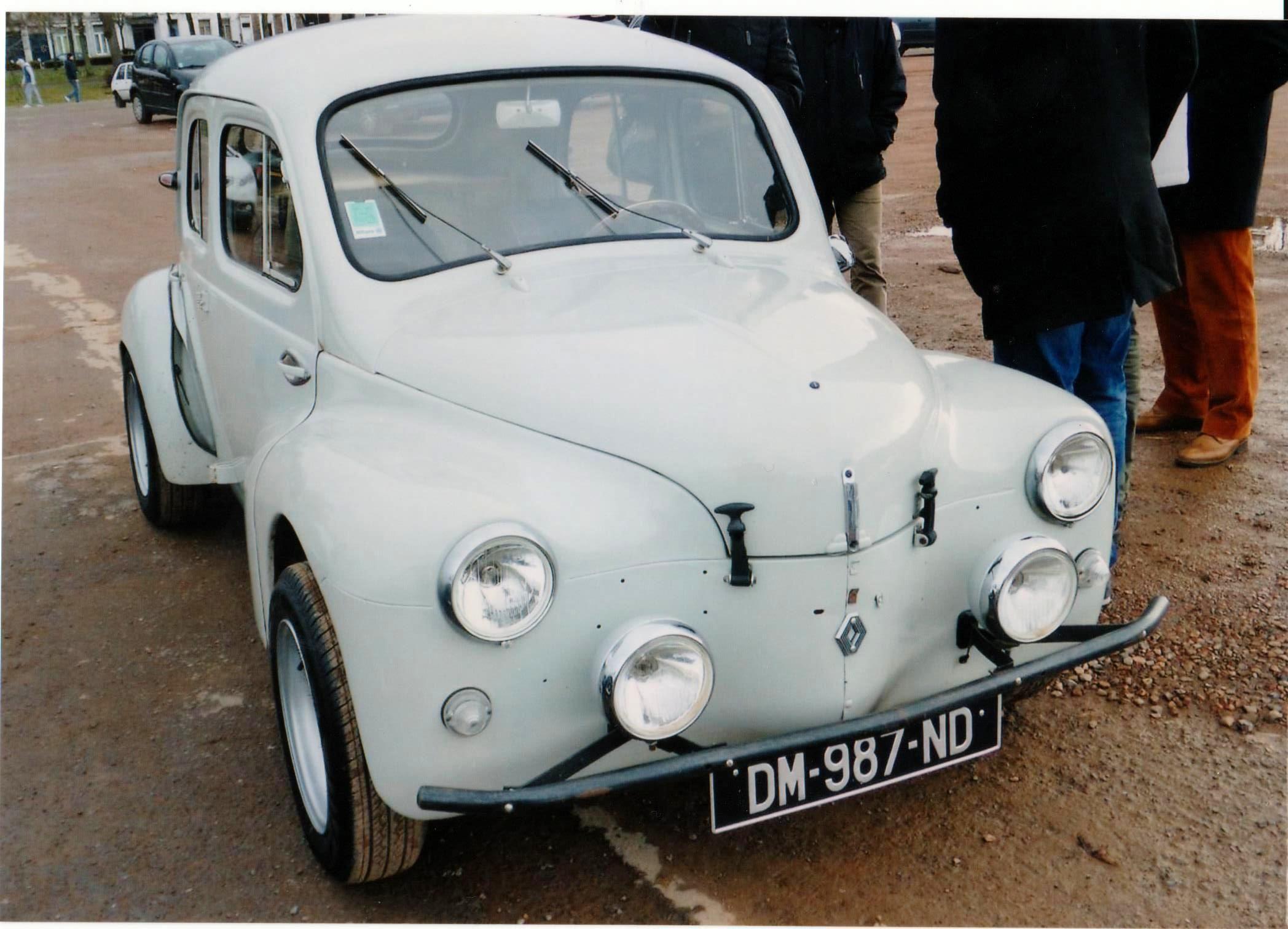 4 Cv Proto Charles Renault Voiture Sport