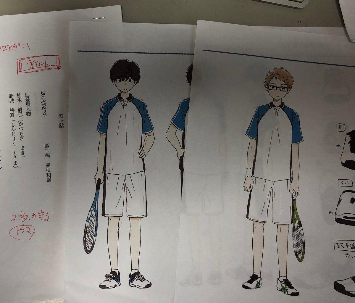 Sora, Character Design, Anime