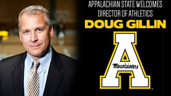 Doug Gillin named director of athletics at Appalachian -