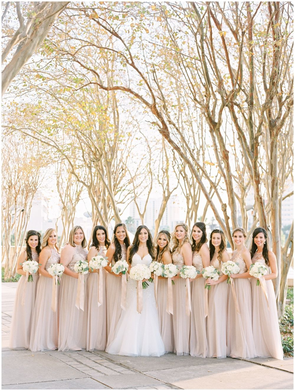 Bride And Bridesmaids Bouquets Downtown Tampa Wedding Rentals Tampa Wedding Brides And Bridesmaids Wedding Rental Company