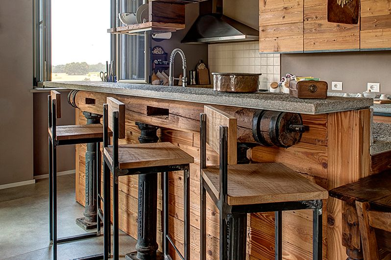 Risultati immagini per cucina in ferro e legno | CASA GIULIA | Loft