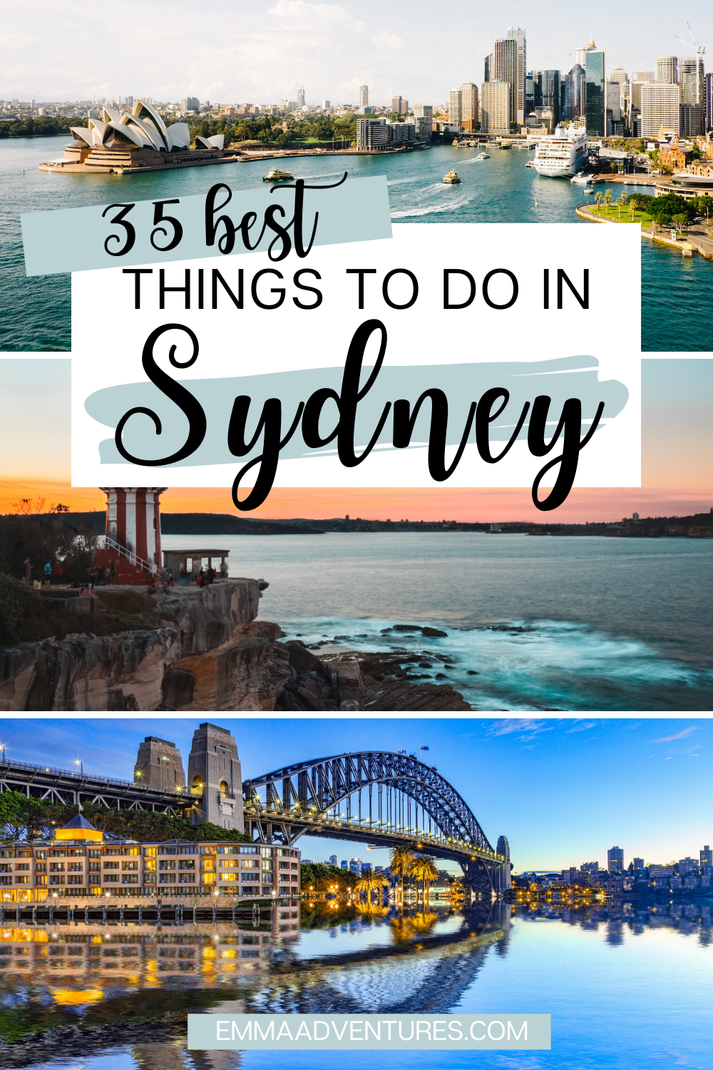 35 Of The Best Things To Do In Sydney Australia Sydney Travel Australia Travel Visit Sydney