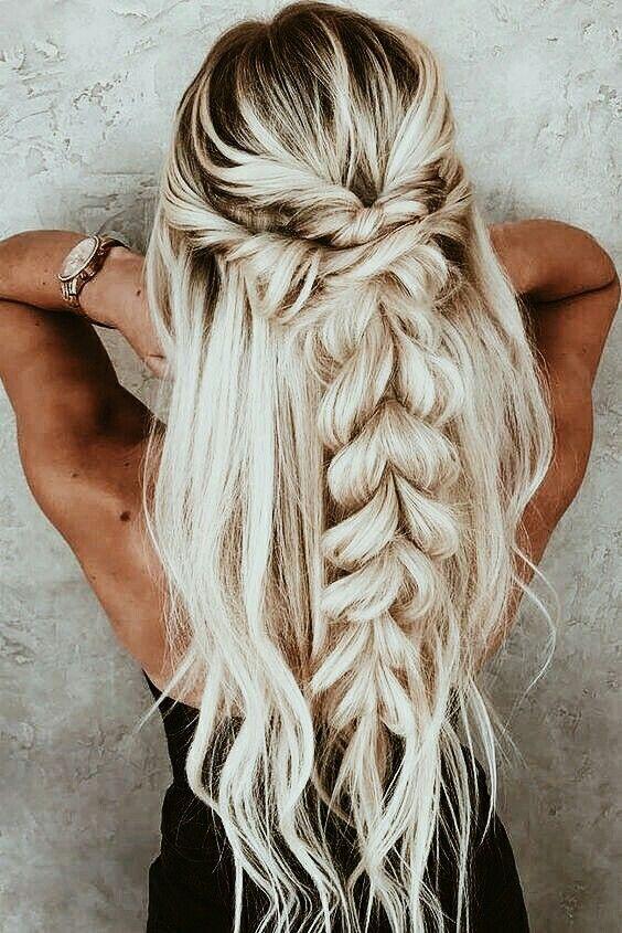 Hairstyles Hair Ideas Hair Tutorial Hair Colour Hair Updos Messy Hair Long Short And Medium Lengt Braids For Long Hair Cute Braided Hairstyles Long Hair Styles