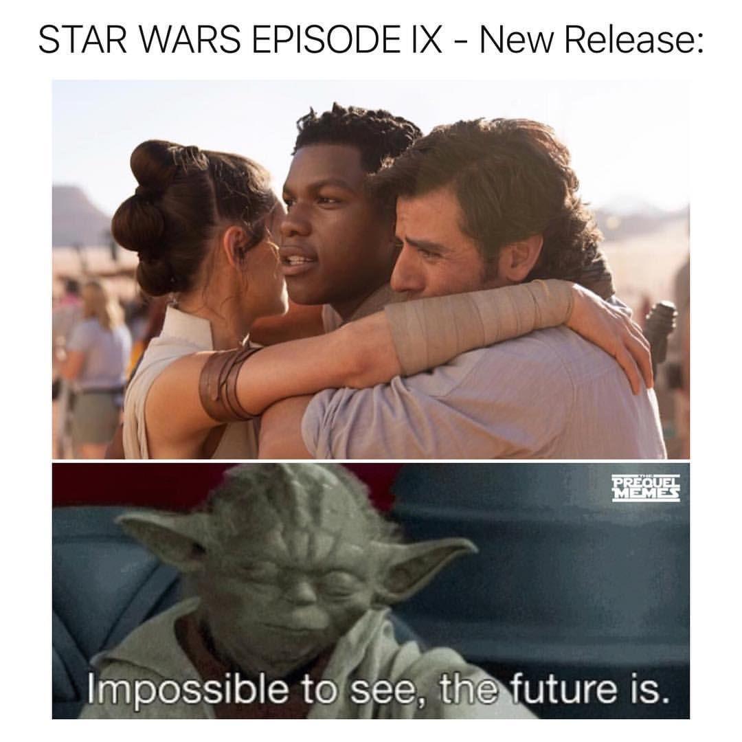 Star Wars Star Wars Memes Sequel Meme Funny Star Wars Star Wars Episodes Star Wars Humor Star Wars