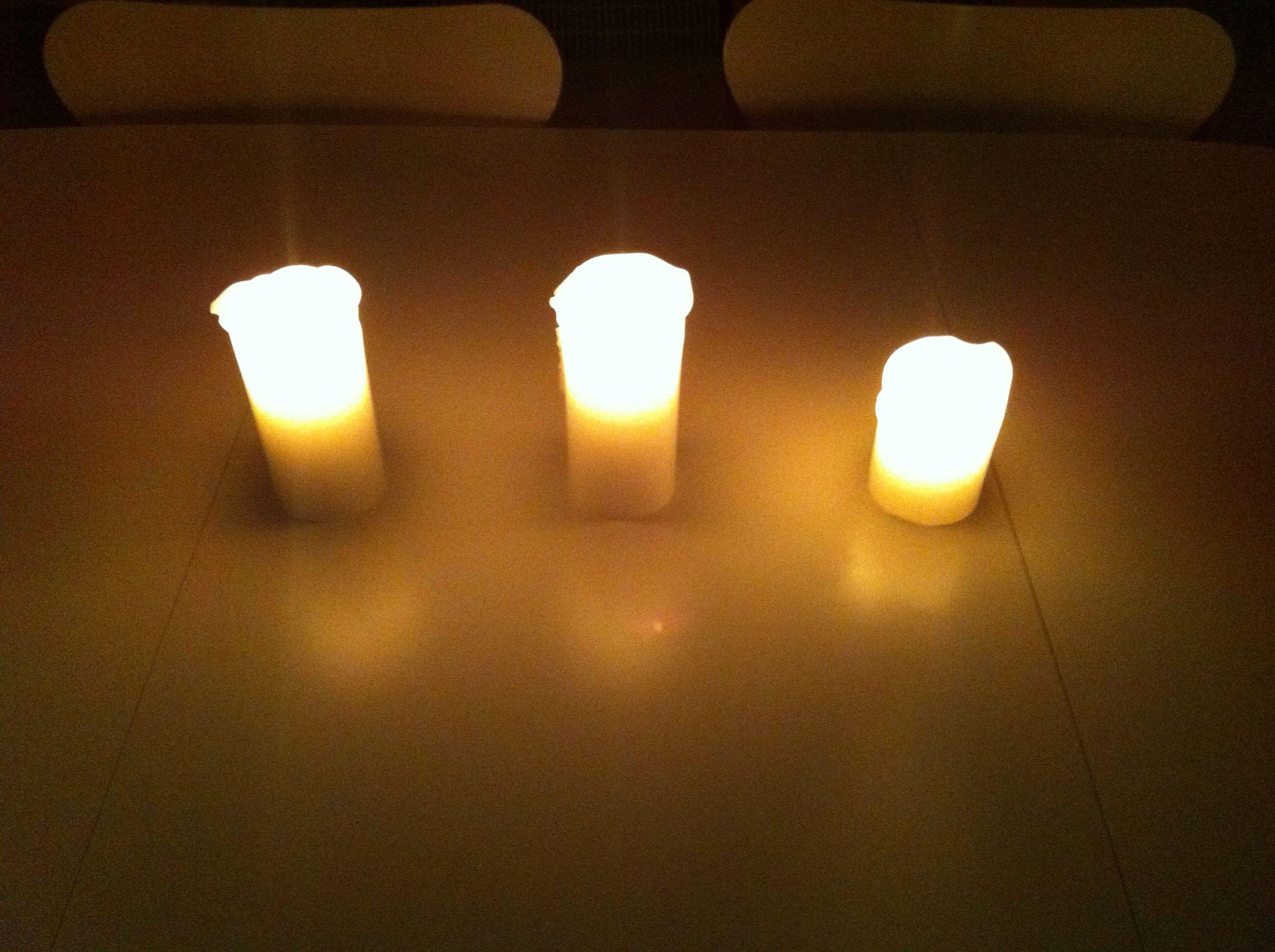watching the deep glow create some skandinavisk hygge