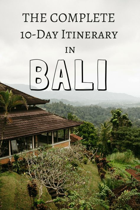 Come explore everything Indonesia has to offer with our10 Day Bali Guide to the best spots on the island! This includes Uluwatu, Ubud, Waterfalls, temples, indonesian food, and so much more! TheMandagies.com