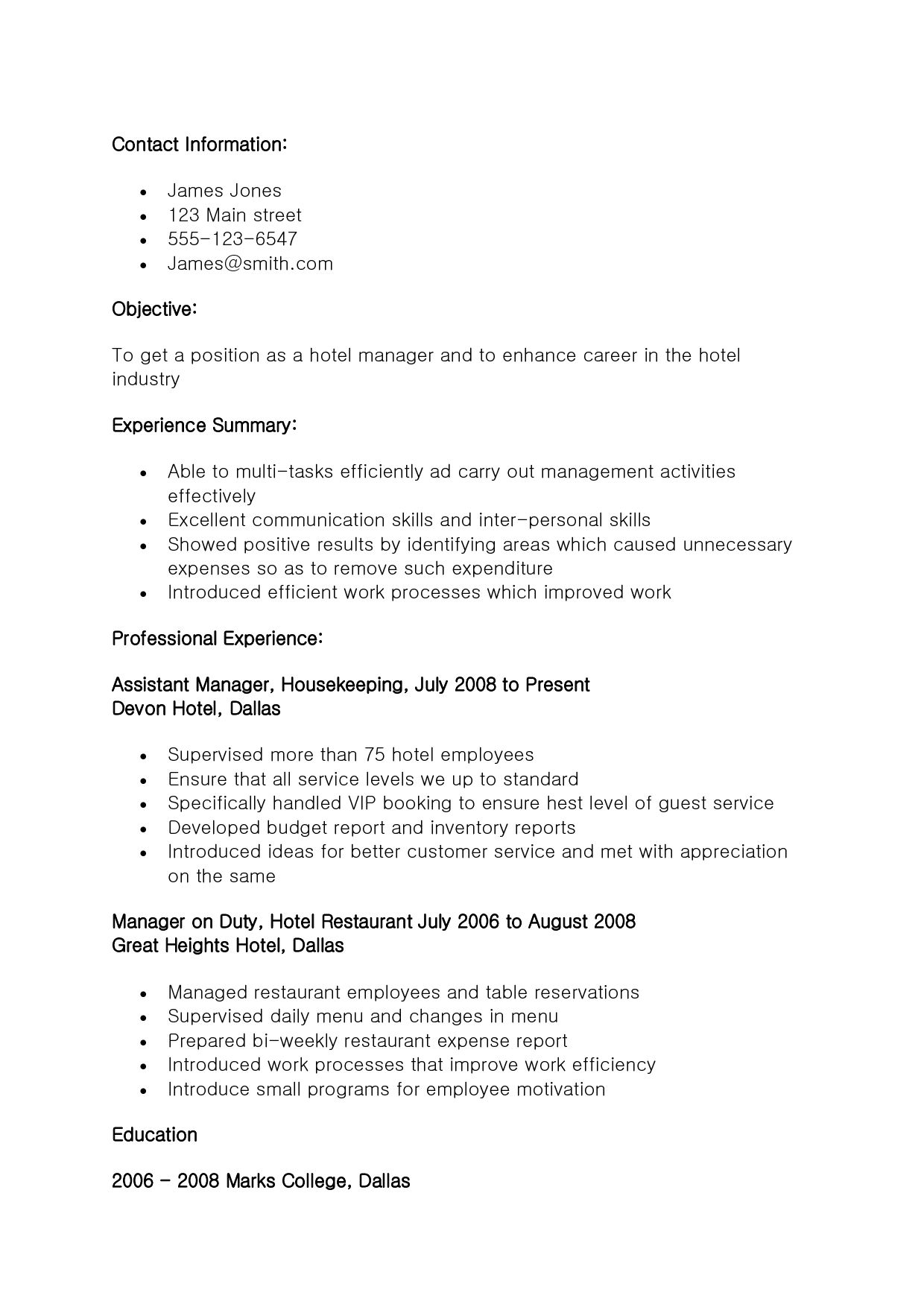 74 beautiful image of resume objective statement examples