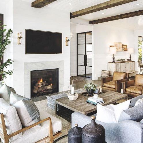 Superbe This Feel. Modern Farmhouse InteriorsModern Farmhouse Living Room ...