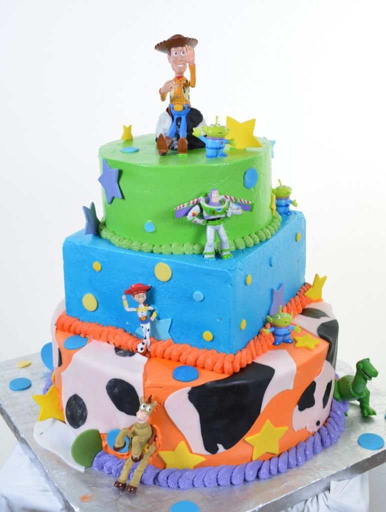 Toy Story Cast Party Kids Cakes Pastry Palace Las
