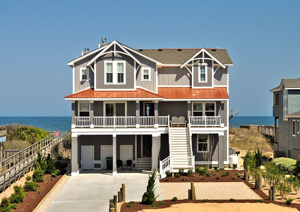 East wind b480 is an outer banks oceanfront vacation