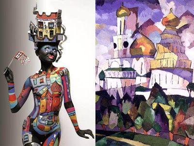 Laberintos del Arte: Calendario Kryolan 2011