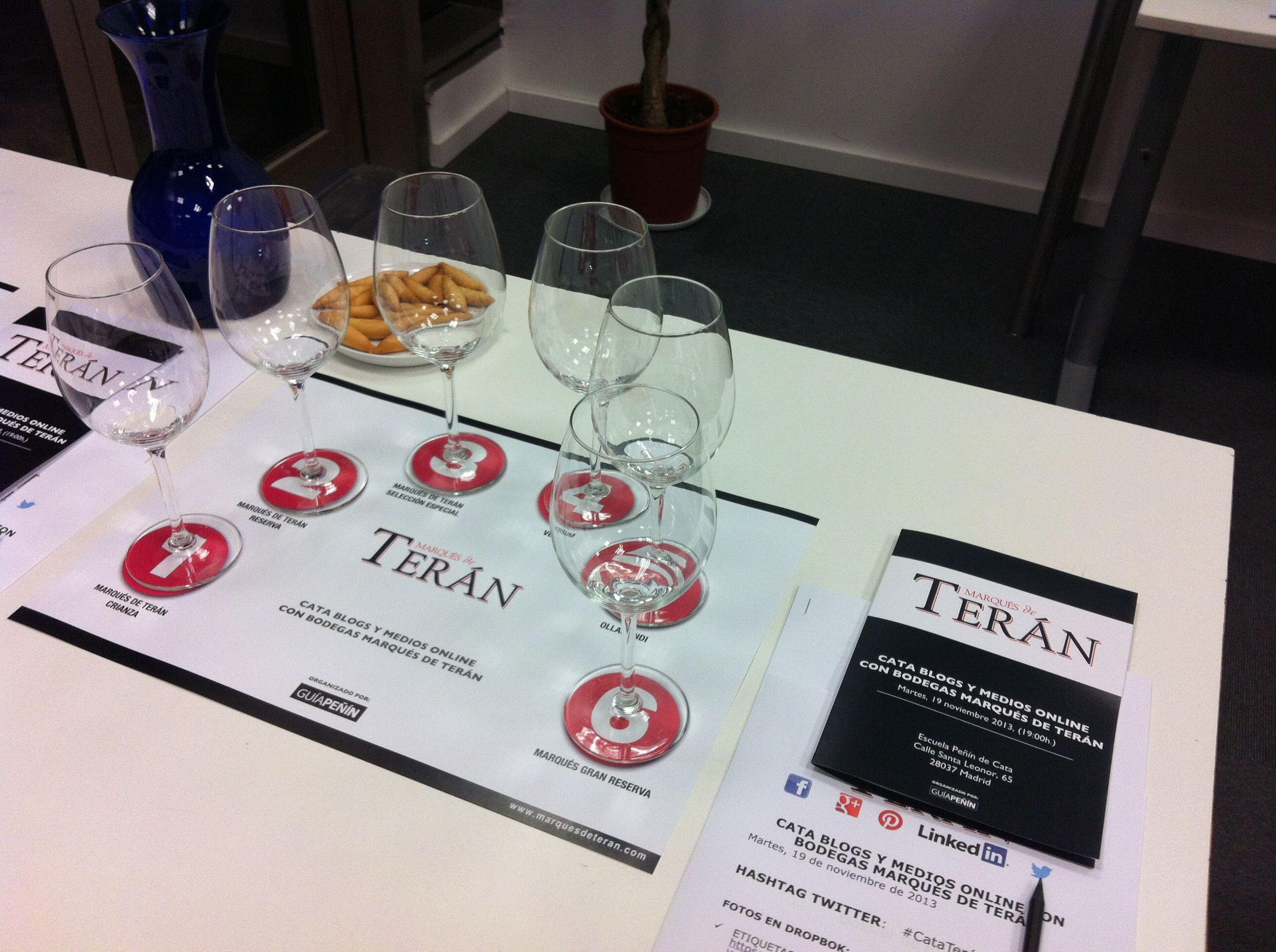Marqués de Terán presenta sus #vinos a bloggers y medios online