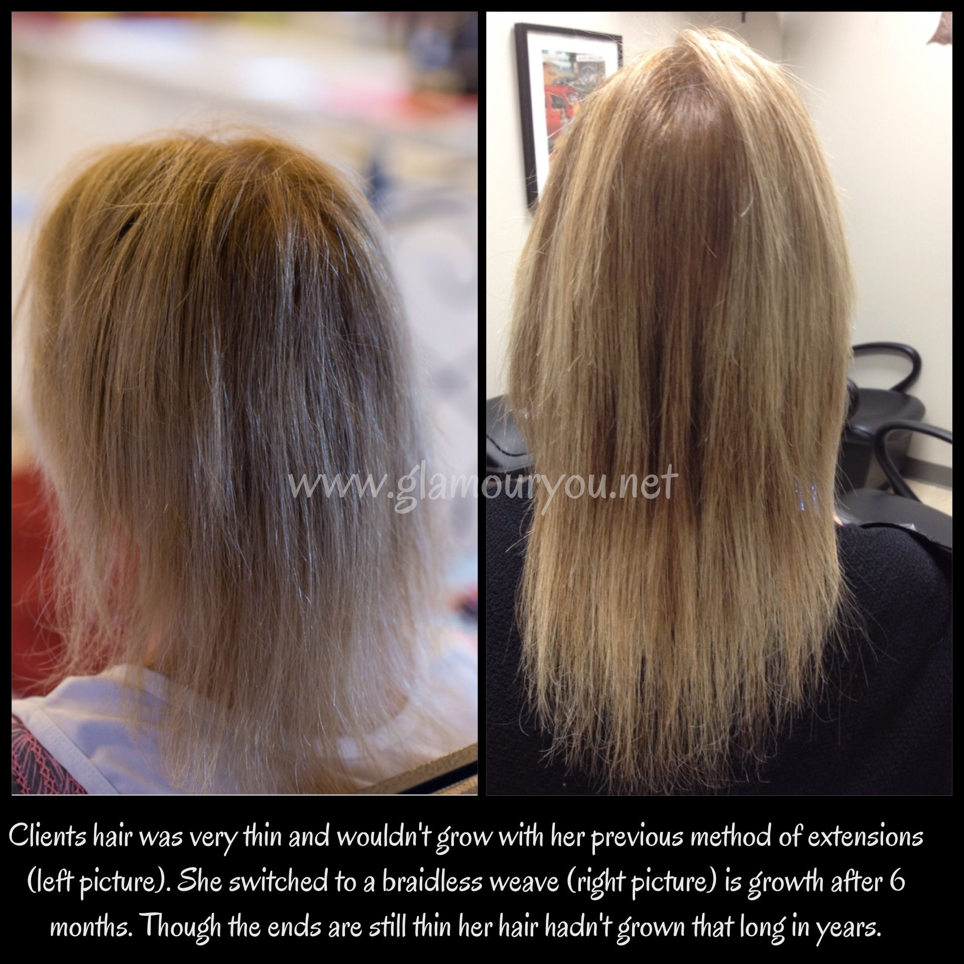 Hair growth with extensions weaves glamouryou my work hair growth with extensions weaves glamouryou pmusecretfo Gallery