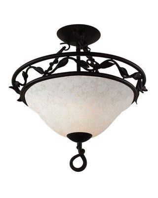 Z lite lighting 4013sf three light semi flush in black wrought iron finish quality · ceiling light fixturesceiling lightsdiscount