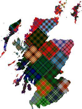 Scottish District Tartans Scotclans Clans