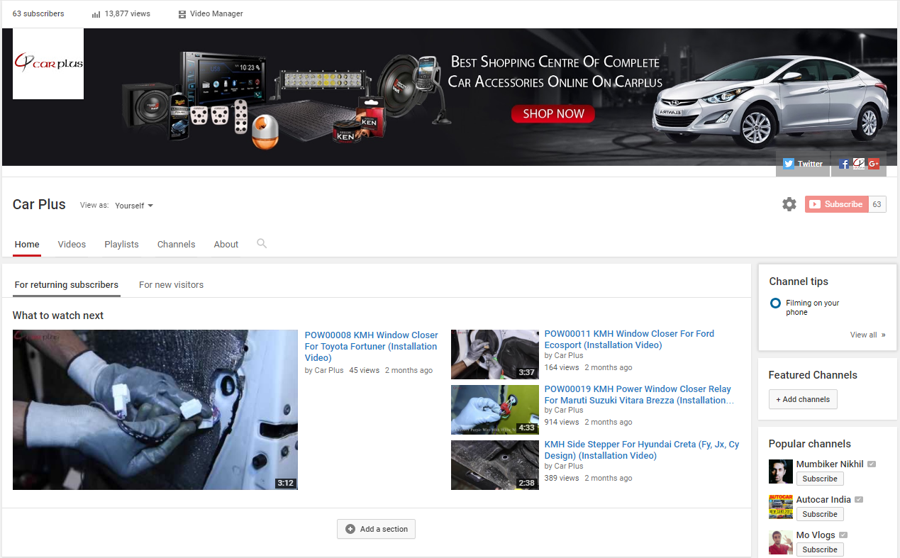 To stay up to date with #Carplus latest videos and product ...