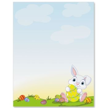 Bunny Surprise Letter Paper  Idea Art  Cuties