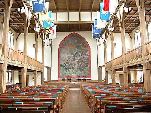Jackson Memorial Hall Virginia Military Institute Chapel Remember
