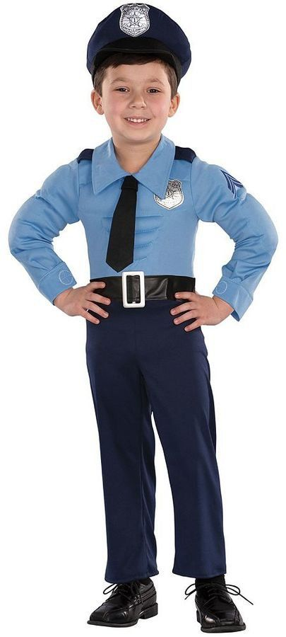 Police Officer Costume Police Costume Police Officer Halloween Costume Kids Police