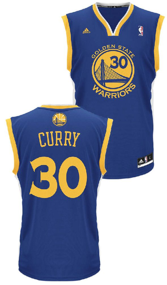 ed1b67f20 Stephen Curry Youth Golden State Warriors Replica Basketball Jersey  49.95