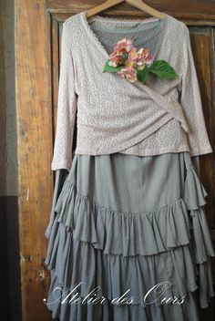 French Country Style Clothing Upcycled