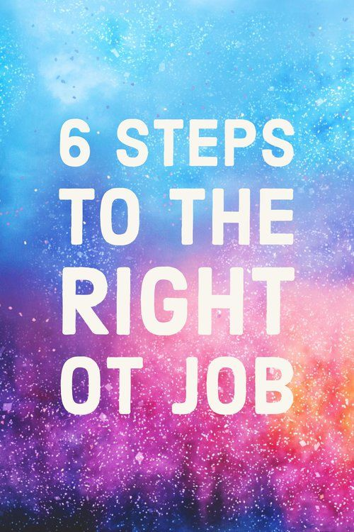 Looking for the right OT job? Check out the occupational therapy job