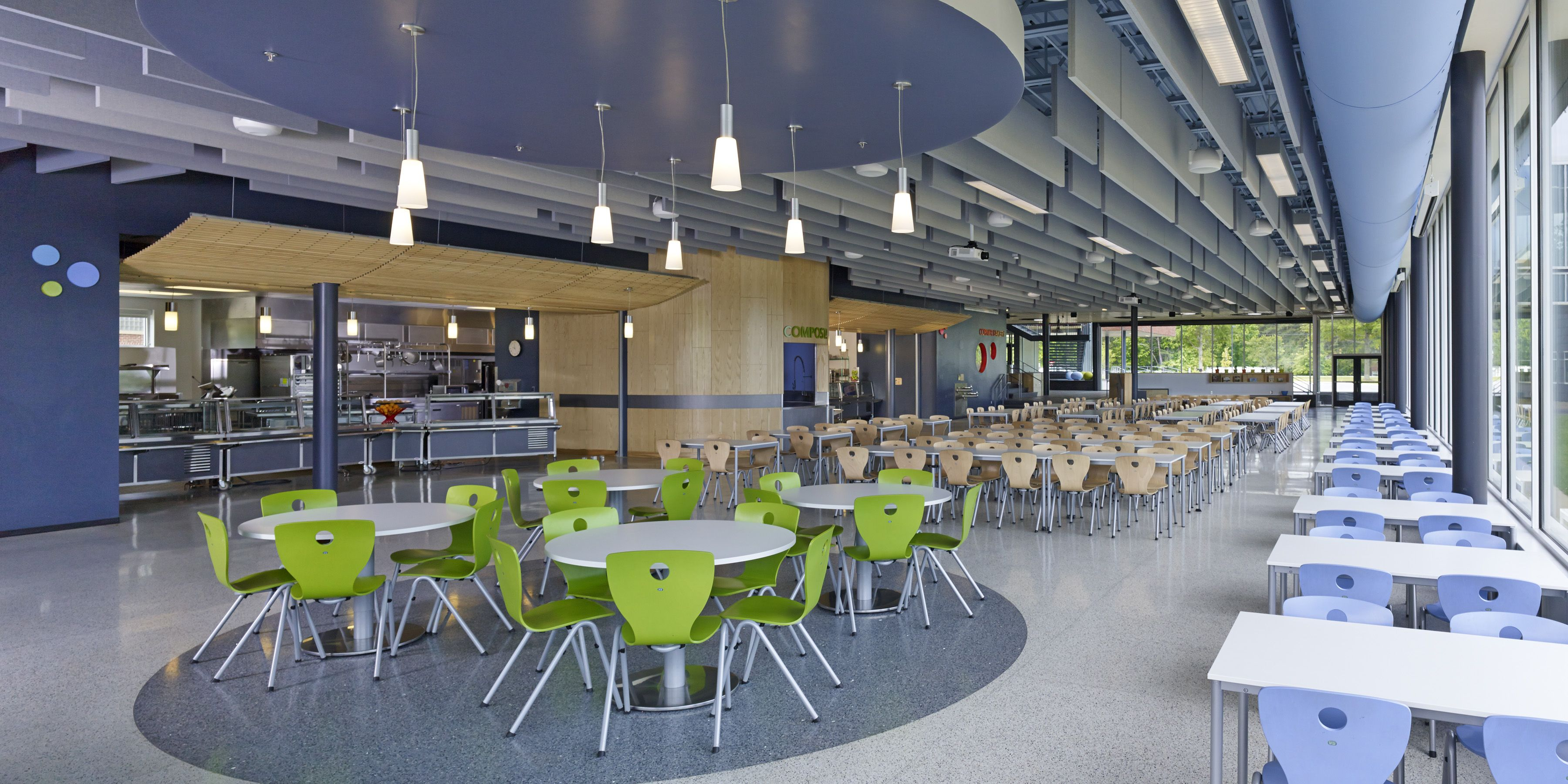 Vmdo architects thoughtful design for k 12 and higher for Proyecto cafeteria escolar