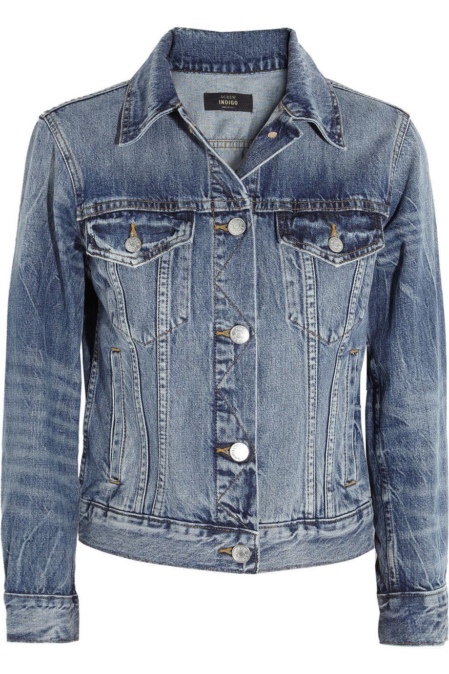 Mid Denim Vintage Denim Jacket J Crew Vintage Denim Jacket Vintage Denim Vintage Jean Jacket