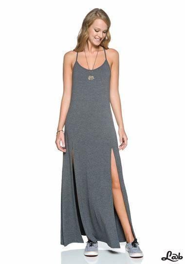 Resultado de imagem para vestido longo justo de malha  b1bd1087d192b