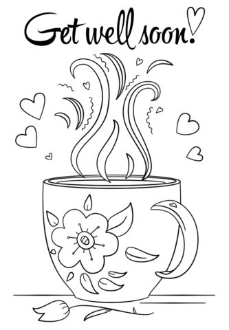 kids get well coloring pages   Get Well Soon coloring page from People category. Select ...