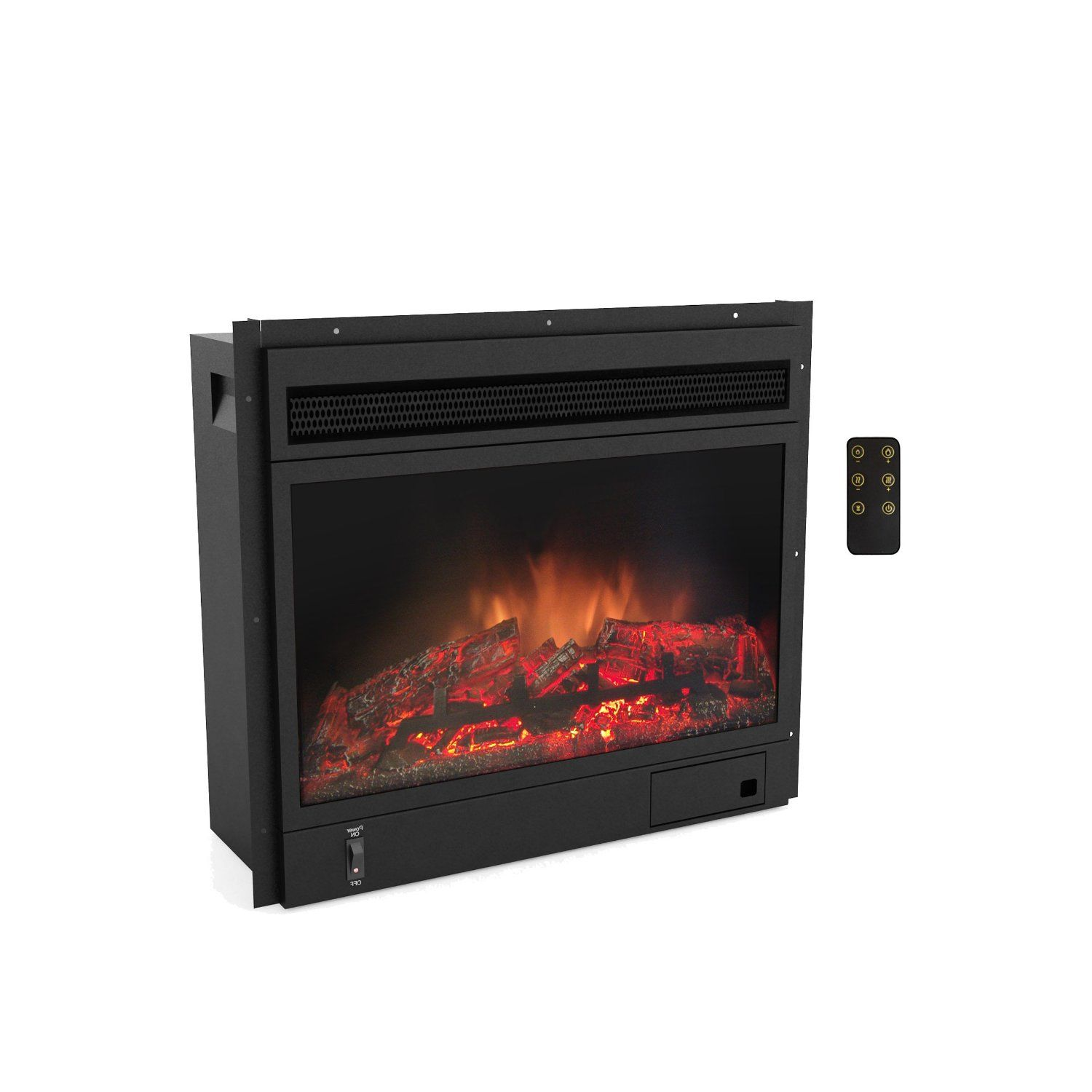Amazon.com - CorLiving E-0001-EPF Sonax Electric Fireplace - Fireplace  Insert - Amazon.com - CorLiving E-0001-EPF Sonax Electric Fireplace