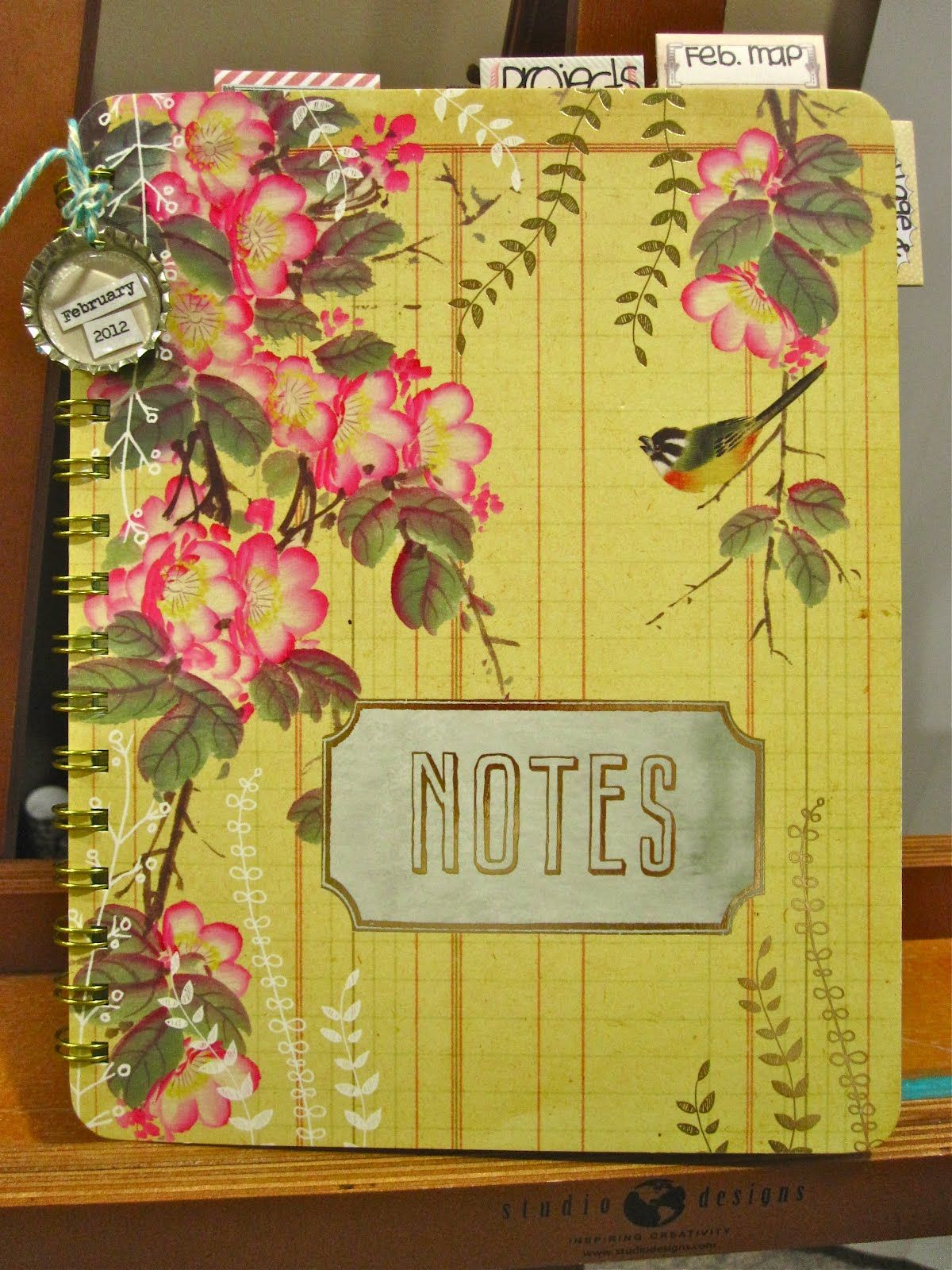 Inspiration Everywhere: Journal 33 is Finished...