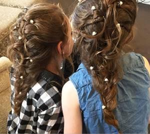 تسريحات شعر للاعراس و المناسبات و المراهقات و الاطفال اجمل صور Wedding Hairstyles Hair Styles Hair